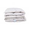 Пуховое одеяло 140х205, 100% белый пух, кассетное, Luxury Sleep