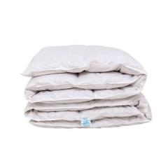 Пуховое одеяло 200х220, 100% пух, кассетное, Standard