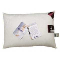 Пухова подушка 70х70, 100% білий пух, Luxury Sleep